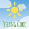 Feeling Good: positive mindset icon